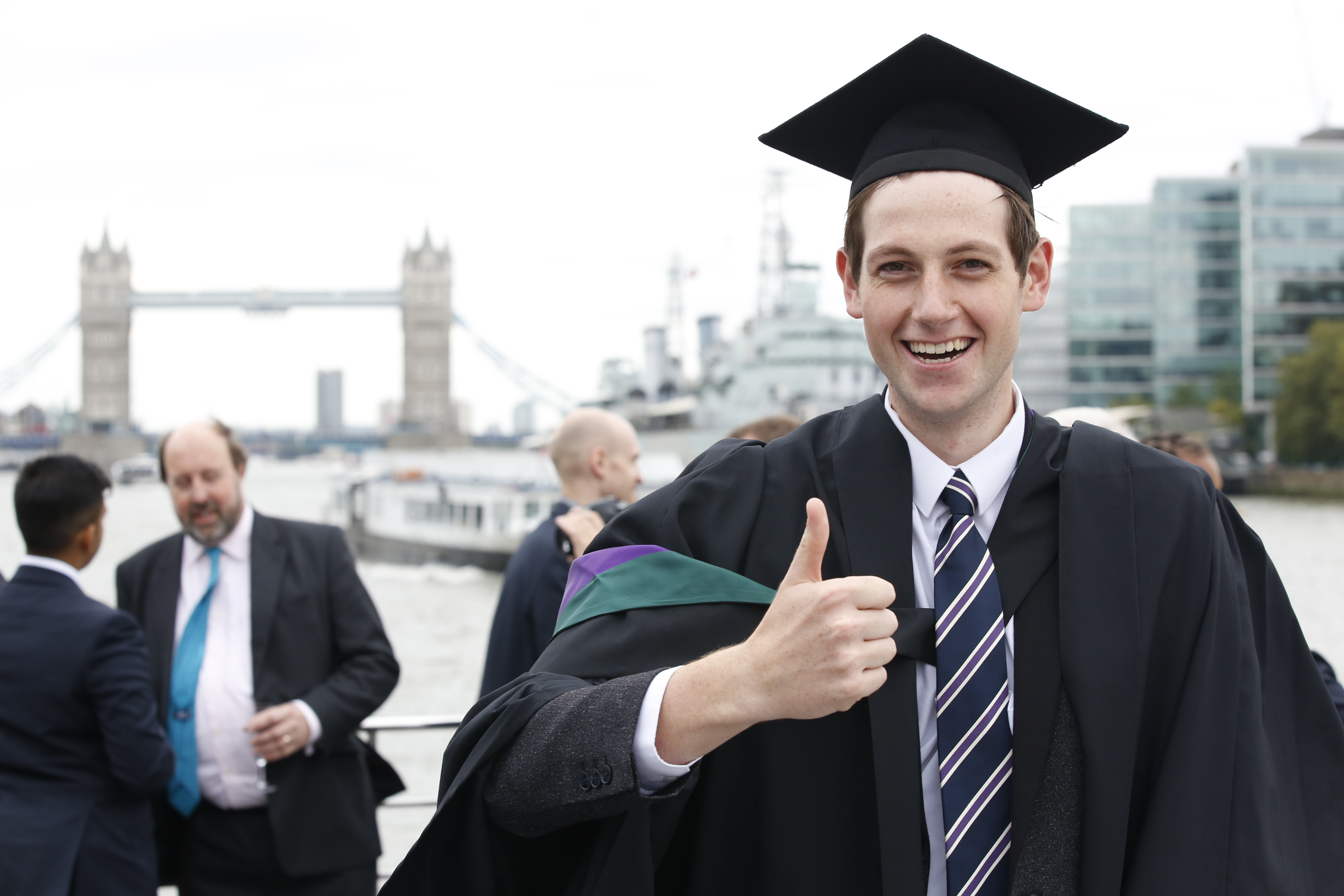 Pearson Business School Graduate, Sam Burley