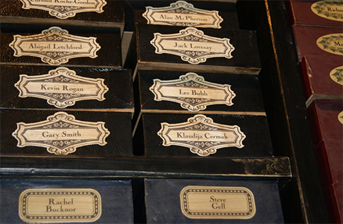 Magic Wand Draws at Warner Brothers Harry Potter Studios